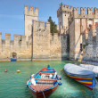 Ancient castle. Sirmione, Italy. — Stock Photo