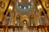 Catholic church interior view. Alba, Italy. — Stock Photo