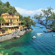 Small bay. Portofino, Italy. - Foto de Stock  
