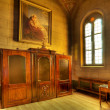 Catholic church interior. Serralunga D'Alba, Italy. — Stock Photo