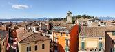 Sirmione panoramic view. Lake Garda, Italy. — Stock Photo