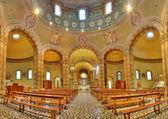 Catholic church panoramic view. Alba, Italy. — Stock Photo