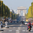 Champs Elysees in Paris, France. — Stock Photo #7962132