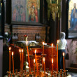 Prayer in RussiOrthodox Church. — Stockfoto #7977047