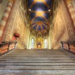 San Lorenzo cathedral interior. — Stock Photo