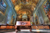 San Lorenzo cathedral interior. — 图库照片