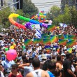Gay Pride Parade in Tel Aviv, Israel. — Foto de Stock