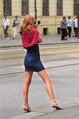 Sexy photographer. — Stock Photo
