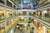 Mall interior in Prague, Czech Republic. — Stock Photo