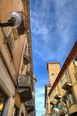 Old town of Alba, Italy. — Stock Photo