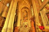 圣维托雷教堂内部. — 图库照片