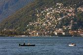 δες στο στη λίμνη maggiore από ελβετία. — Φωτογραφία Αρχείου
