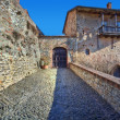 Stock Photo: Ancient castle. SerralungD'Alba, Italy.