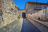 Ancient castle. Serralunga D'Alba, Italy. — Stockfoto