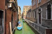 Small canal. Venice, Italy. — Stock Photo