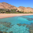 Red Sea shoreline. Eilat, Israel. — Stock Photo