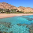 Stock Photo: Red Seshoreline. Eilat, Israel.