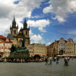 Old Town Square in Prague. — Stock Photo