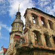 Ruins of Dresden, Germany. — Stock Photo