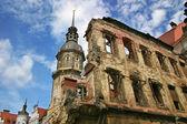 德累斯顿,德国的废墟. — 图库照片
