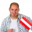 Young man with australia flag — Stock Photo #10026264