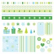 New year's design elements — Stock Vector