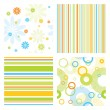 Royalty-Free Stock Vectorielle: Seamless patterns