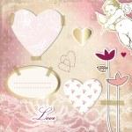 Valentine's design elements — Stock Vector #8797528