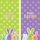 Easter web banners — Stock Vector