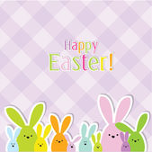 Easter card with copy space — Vettoriale Stock