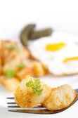 Golden braun bratkartoffeln — Stockfoto