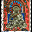 Vintage postage stamp. Mahavira. — Stock Photo