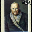 Vintage postage stamp.  Alekcandr Ostrovsky. - Stock Photo