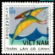Vintage postage stamp. Pteranodon. — Stock Photo