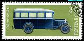 Vintage poštovní známka. Autobus Gaz? 03 -30. 1933. — Stock fotografie
