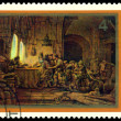 Постер, плакат: Rembrandt Parable of the Workers in the Vineard