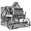 Stock Photo: Agricultural machinery, 1897