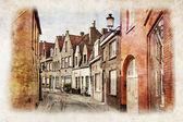 Streets of Brugge, Belgium — Stock Photo