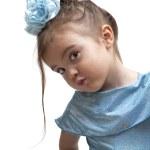 Portrait of little girl — Stock Photo #8307623