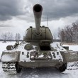 Russian Tank T34 - Stock Photo