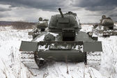 Russian Tanks — Stock Photo