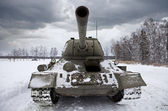Russian Tank T34 — Stock Photo