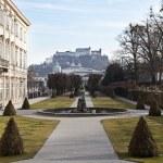 Mirabell Gardens. Salzburg, Austria — Stock Photo