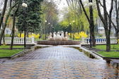 Pushkin Boulevard — Stock Photo