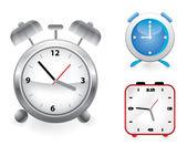 Uppsättning vektor väckarklockor — Stockvektor