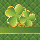 Saint Patrick's day frame — Stockvector