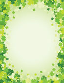 Saint Patrick's day background — Stok Vektör