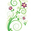 Spring floral background — Stockvectorbeeld