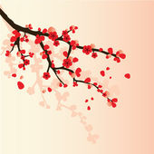 Sakura şubesi — Stok Vektör