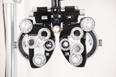 Eye Exam Equipment — Stock Photo